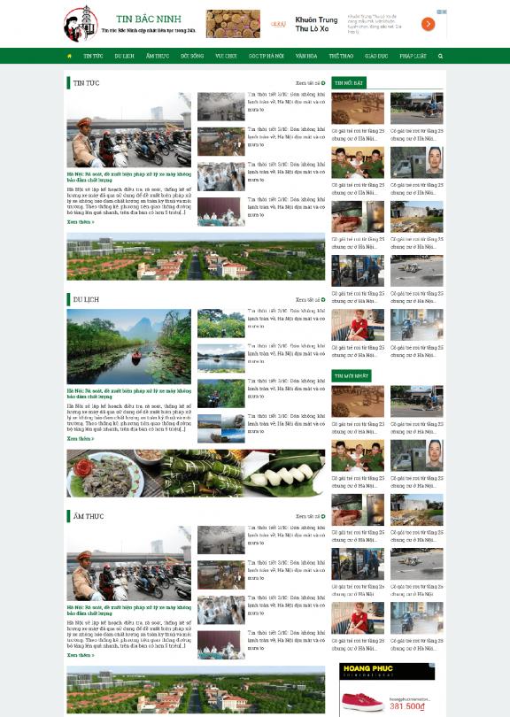 Tin tức Bắc Ninh