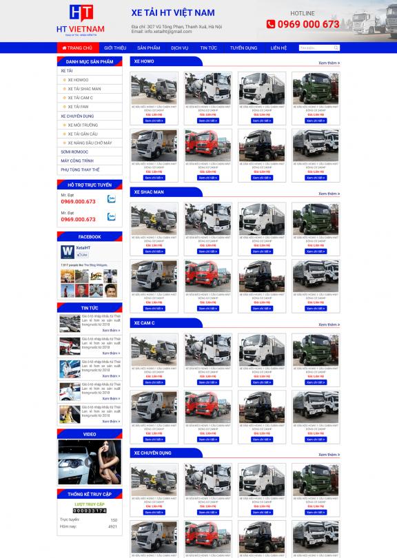 Xe tải HT Việt Nam