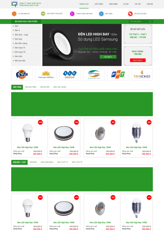 Đèn led Lighting Viet