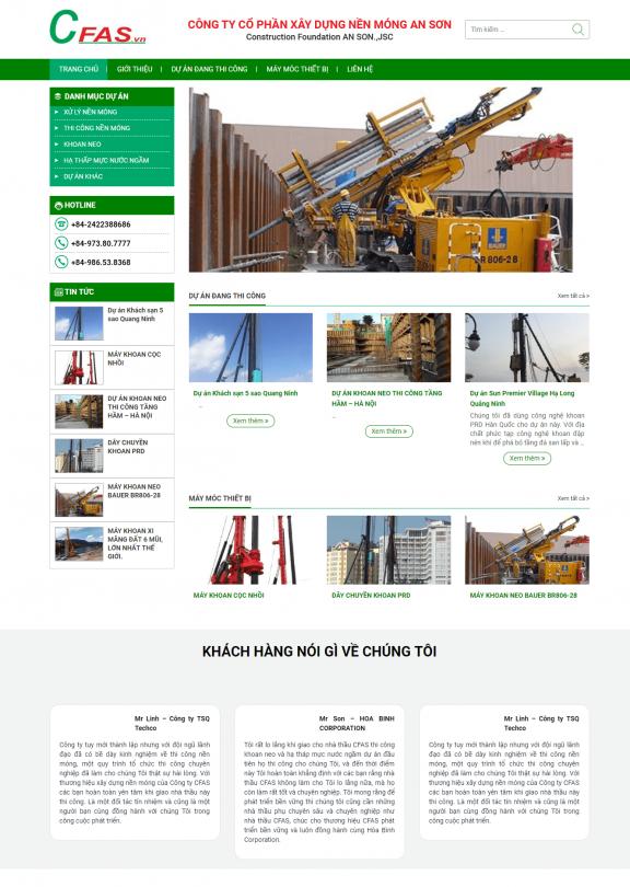 Công ty xây dựng – An Sơn
