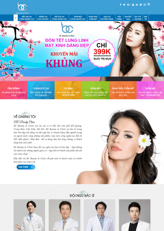Mỹ phẩm Beautiful Clinic