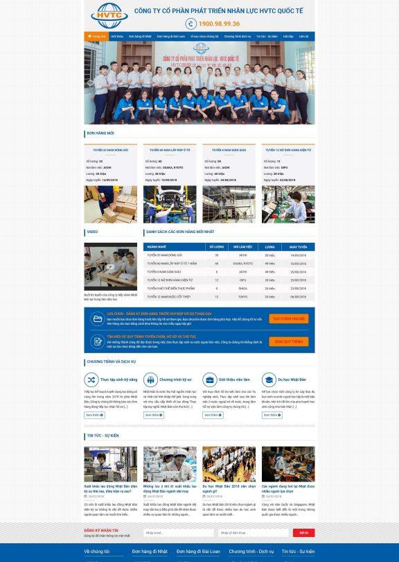 Xuất khẩu lao động HVTC